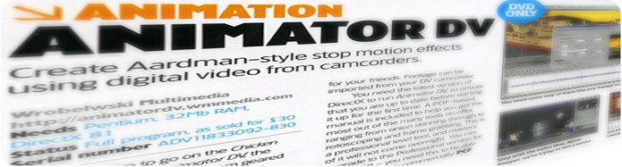 AnimatorDV in the press